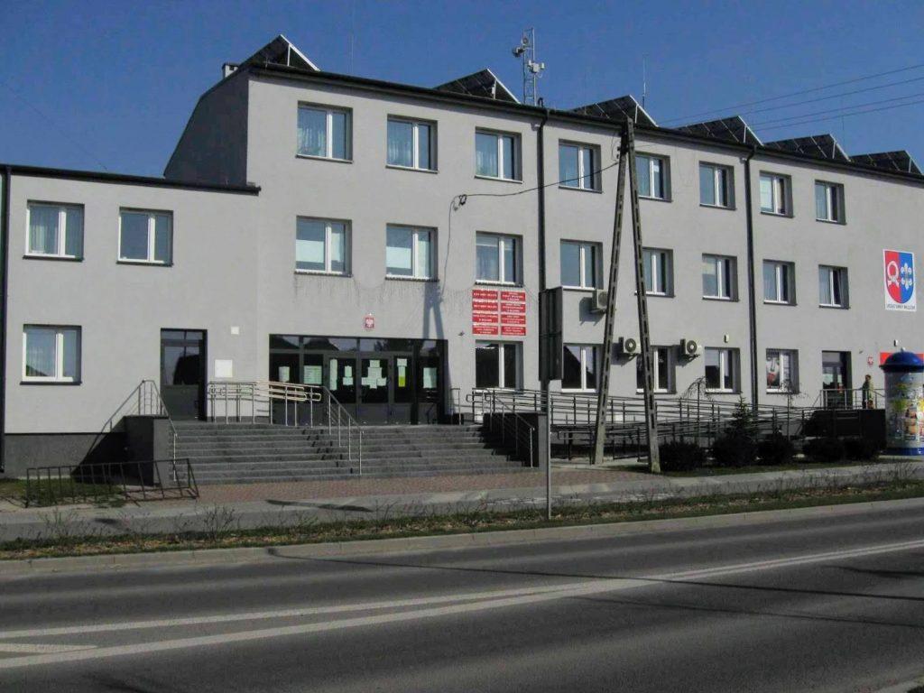 okna pcv urząd gminy Milejów