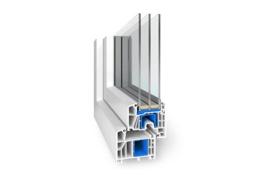 okno energooszczędne megaplast profil