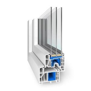 okna energooszczędne profil megaplast