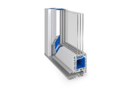 drzwi pcv energooszczędne profil