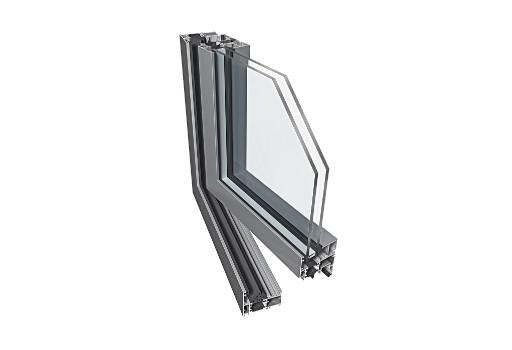 drzwi aluminiowe ekonomiczne PE60