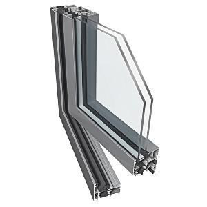 drzwi aluminiowe ekonomiczne PE60 profil