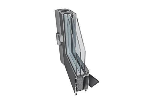 drzwi aluminiowe energooszczedne PE78nhi