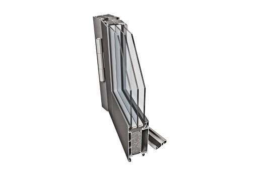 drzwi aluminiowe standardowe PE68